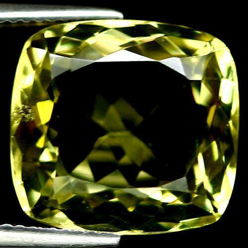 Ravishing 12.33ct emerald cut Citrine