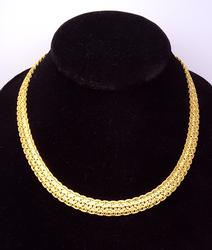 Stunning 14K Yellow Gold Necklace, 41 Grams!