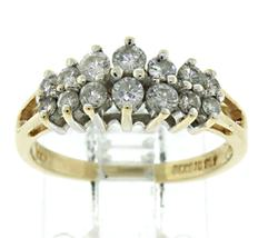 Beautiful 2 Row Diamond Ring
