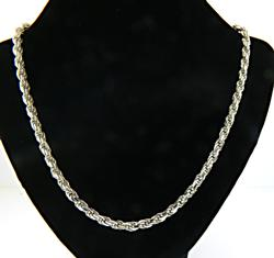 Heavy Sterling Silver Chain Necklace