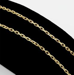 18kt Yellow Gold Dainty Chain Necklace