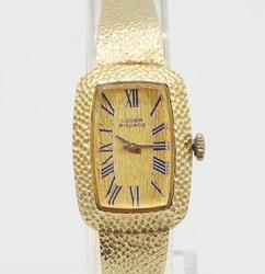 Lucien Piccard 14kt Yellow Gold Watch Vintage