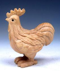 Hand Carved Boxwood Netsuke