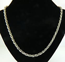 Heavy Rope Chain Necklace