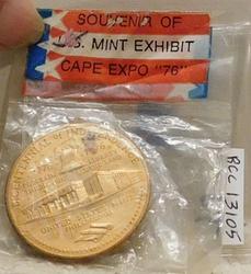 1976 BiCentennial Medal, with original bag