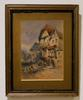 William Bingham McGuinness Signed Watercolor 1875