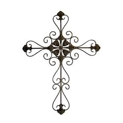 Cheungs 33 inch tall metal cross