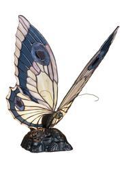 Meyda 15H Butterfly Accent Lamp-Bapa Blue Bp Pink