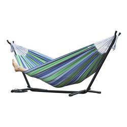 Vivere Outdoor Camping Vivere's Combo - Double Oasis Hammock with Stand