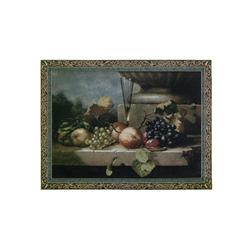 Decorative Grapes Of Venice Small Hanging Wall Tapestry