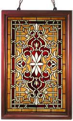Tiffany-style classic Window Panel