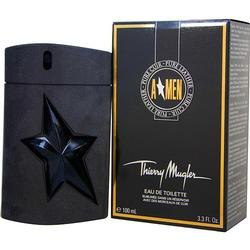 ANGEL MEN PURE LEATHER by Thierry Mugler EDT SPRAY 3.3 OZ