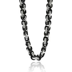 Stainless Steel Black Necklace