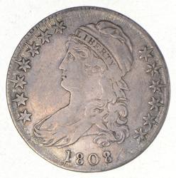 1808/7 Capped Bust Half Dollar