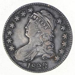 1823 Capped Bust Half Dollar - Broken 3