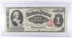 1891 $1 Martha Washington Silver Certificate Large Size Note
