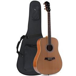 ADM 41 inch Full Size Premium Dreadnought Acoustic Electric Guitar