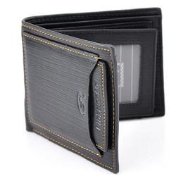 Men PU Wallet Pockets Money Purse ID Credit Card Clutch Bifold Classic