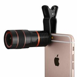 Clip-on 8x Zoom HD Telescope Camera Lens For Cellphones