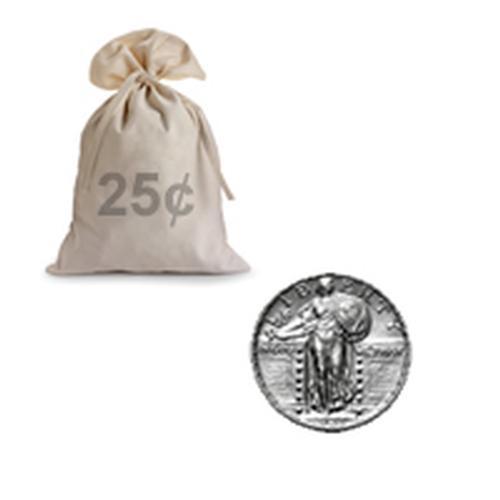 90% Silver Standing Liberty Quarters 100 pcs.