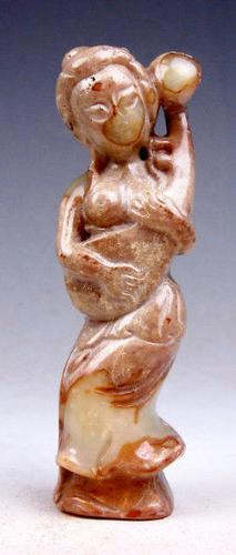 Jade Caved Nephrite Sculpture