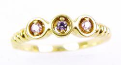 Pretty 14K Gemstone Ring