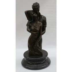 Boy and a Girl in Love Bronze Statue