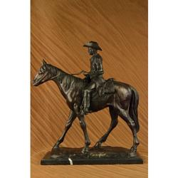 Season Cowboy Bronze Sculpture