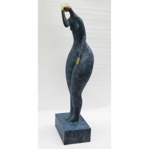 handmade by Lost Wax Method Bronze Figurine