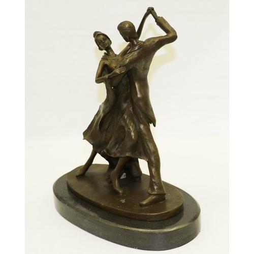 Tango Dance a Bronze Sculpture
