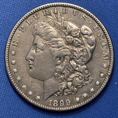 1899 Morgan Silver Dollar, Nice Date, Circ