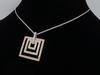 Tri Color Gold Diamond Necklace