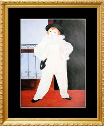 Pablo Picasso, Paul As Pierrot