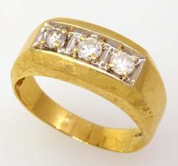 Men's .50CTW Diamond Ring, Size 10.5