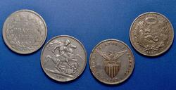 World Silver Coin Lot 1834-1903