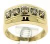 Gent's 5 Diamond Band Ring