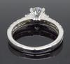 AGS Certified 14K White Gold 1.34CTW Diamond Ring
