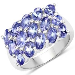Gorgeous 4.0 Carat Tanzanite Cocktail Ring!