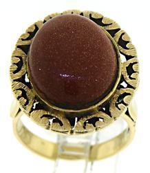 Vintage Sandstone Ring