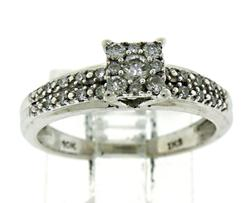 Beautiful Diamond Cluster Ring