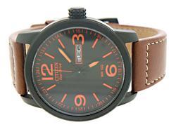 Citizen Eco Drive Orange Dial Watch