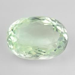 Stunning 4.32ct platinum green Aquamarine