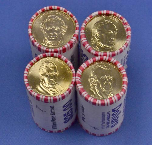 2009 President Dollar BU Philadelphia Roll Set