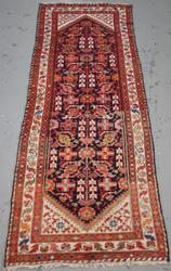 Handmade Semi Antique Persian Malayer 3.2x9.11