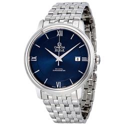New Omega DeVille Swiss Automatic, Blue Dial