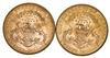 Lot (2) 1903-S & 1904-S $20.00 Liberty Head Gold Double Eagles - Unc