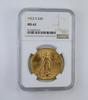 MS62 1922-S $20.00 Saint-Gaudens Gold Double Eagle - Graded NGC