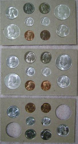 1948 - 28 Coin - Uncirculated Mint State Coin Set