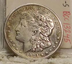 1921-S Morgan Dollar polished