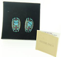 Heidi Das Turquoise Earrings